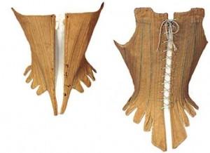 Sznurówka z bawełny i lnu ok 1786 r. [W kolekcji prywatnej]