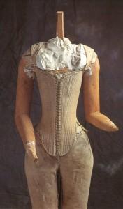"Gorset Elżbiety I ""Effigy corset"" 1603 r. [www.reconstructing history.com]"