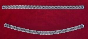 Fiszbiny-stalki wykonane z drutu, wyrób współczesny